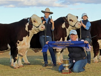 Results from the Hereford National Show and Sale Dubbo 2019
